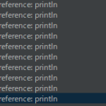 Android StudioでUnresolved reference: printlnと言われた場合の対処法