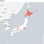 【可視化】コロナウイルス都道府県毎データまとめ(7/19更新)