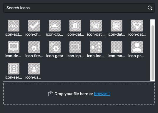 Splunk Dashboard(beta)で使えるアイコン